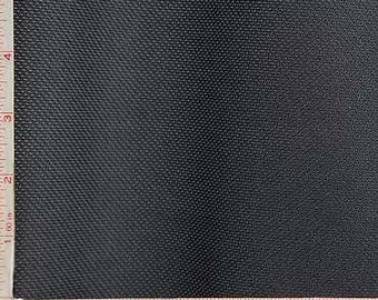 "Black Mesh Knit Fabric 2 Way Stretch Polyester Silicon 6 Oz 58-60"""
