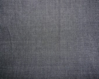 Fabric - Dark indigo stretch  denim - half metre