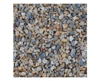 One Pound Miniature Fairy Garden Mini River Rocks, Assorted Rocks For  Landscaping Fairy Gardens,