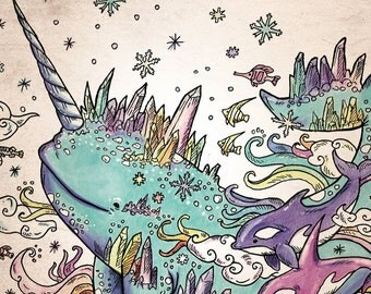 """coloring book """"Magical creatures coloring"""""""