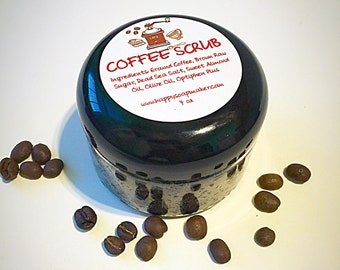 COFFEE BODY SCRUB, Anti Cellulite Scrub, Skin Care, Natural body scrub, Sugar Body Scrub, salt body scrub, Body Scrub, Coffee scrub