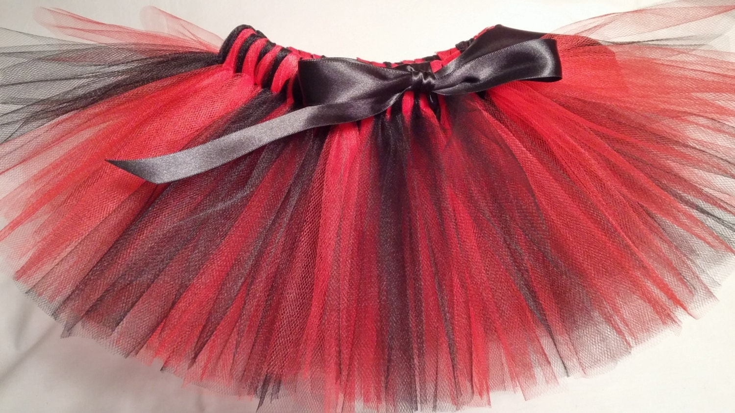 Red and black tutu - Etsy