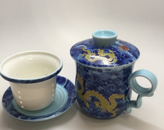 Dragon Tea Cup 10oz
