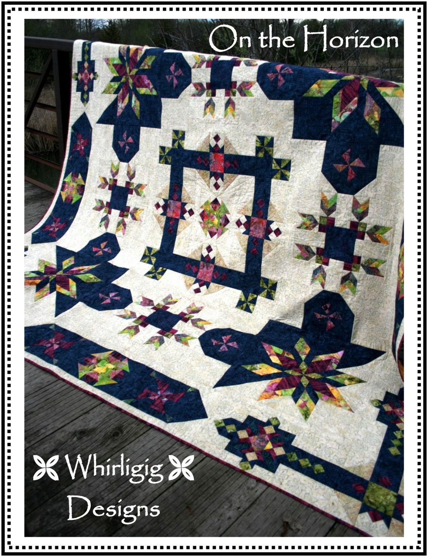 On The Horizon Batik Quilt Pattern Only Or Kit 54
