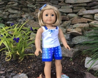 Short Set for American Girl or Similar 18 Inch Dolls