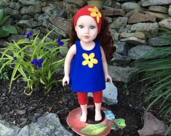 "American Girl or Similar 18"" Doll 3 Piece Set"