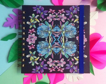 Beautiful Floral Hardcover Notebook