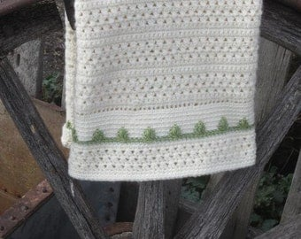 Darling Baby Blanket - 5 Sizes - CROCHET PATTERN
