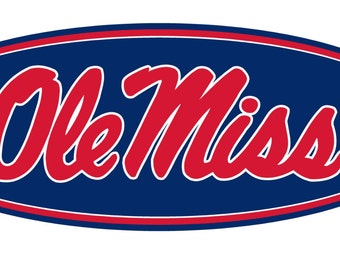 Ole Miss Decal