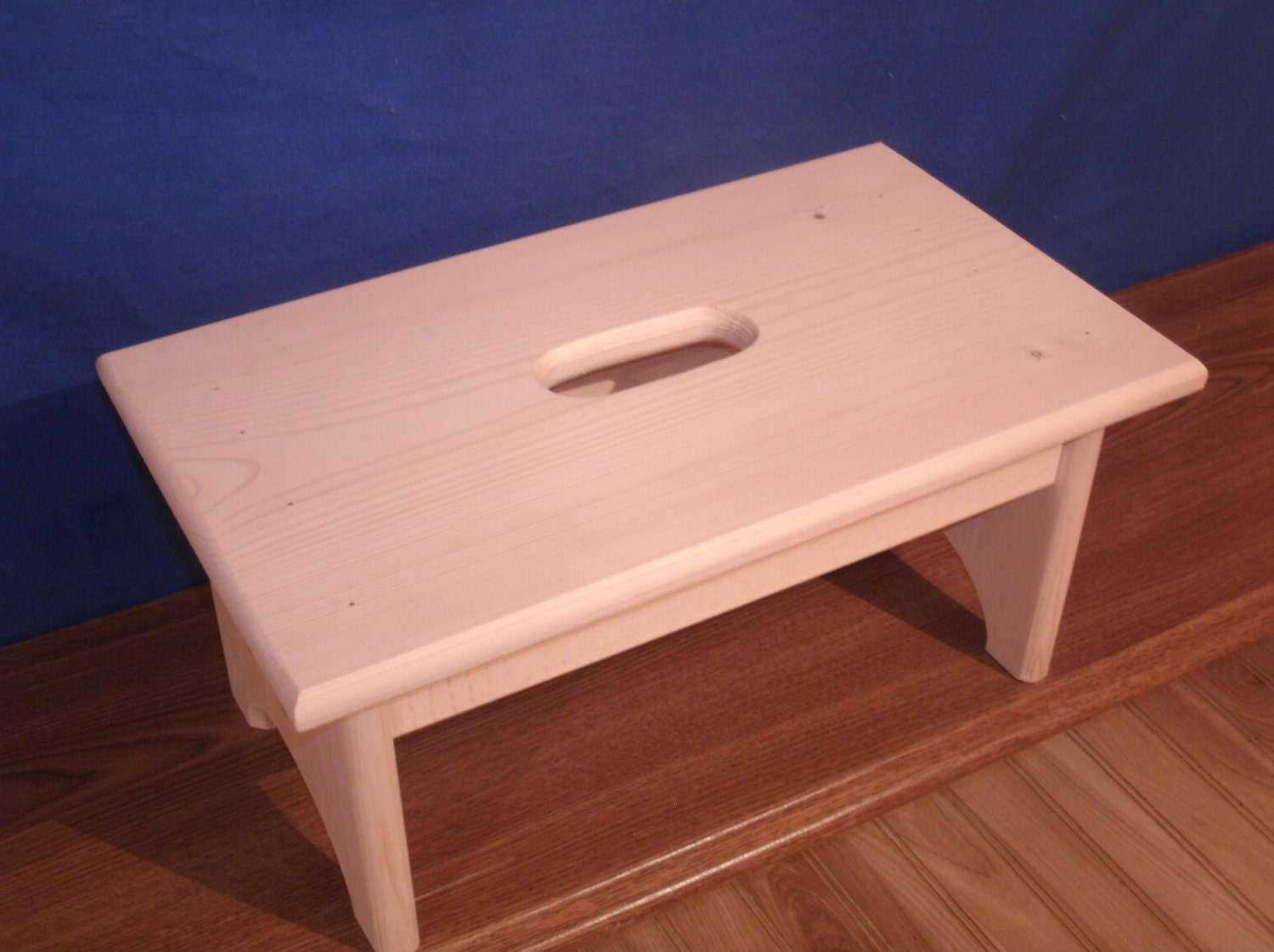 Rustic Wooden Step Stool Wood Step Stool 7 1 2 Tall