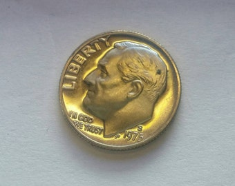 Uncirculated 1975 S Proof Roosevelt Dime