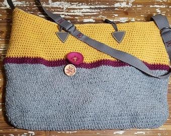 TerraFibres Handmade Crochet Purse Bag