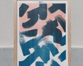 Shapes & Stories risograph print #1 by Studio Marije Pasman