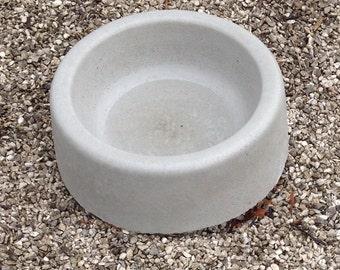 """Dog Bowl, 15"""", concrete mold, ABS plastic, molds, concrete,plaster, cement, water bowl,pet supplies"""