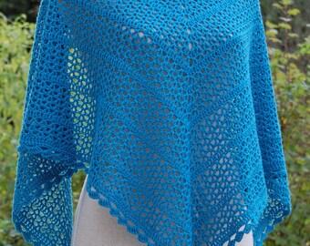 Ottilia crochet shawl pattern