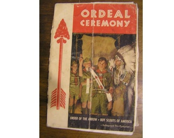 Boy Scout Order of the Arrow Ordeal Ceremony 1968