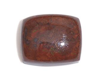 Red Lightning Jasper Cushion Cabochon Loose Gemstone 1A Quality 12x10mm TGW 6.00 Cts.