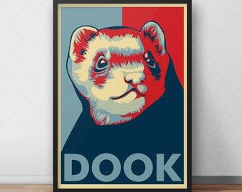 Dook A3 print