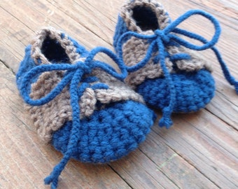 Crochet Saddle Shoes- Ready to Ship!