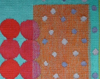 original one off handwoven tapestry, fiber, textile, wall art