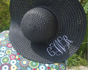 Monogram floppy sun hat