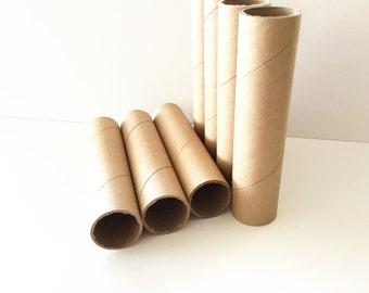 20 Kraft Mailing Tubes, Picture Tubes, Crafting Tubes, Twine Tubes