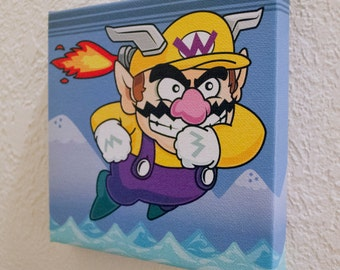 Wario - Print on Canvas