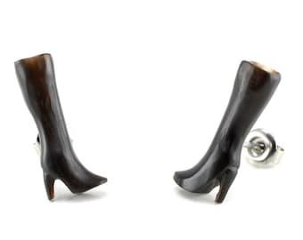 Pair of Knee High Stud Earrings