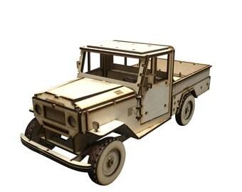 Land Rover Model Kit