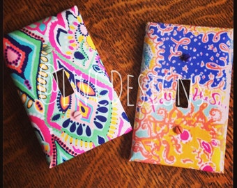 Customizable Lilly Pulitzer Inspired light switch & outlet covers - You choose the print and type!!