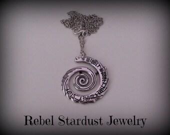 Doctor Who 'Wibbly wobbly timey wimey... stuff' necklace