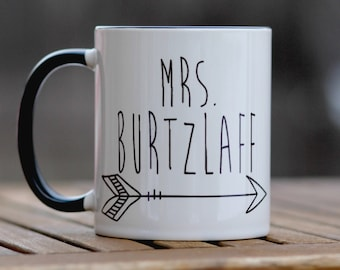 personalized coffee mug, teacher gift, engagement gift, gift for bride, teacher appreciation gift, wedding day gift,