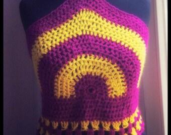 Crochet Top/Häkeltop im Boho Stil