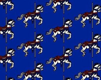 Carousel Horse Eco-Cotton Throw Blanket