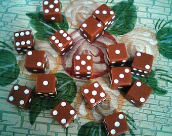 Dice Lot miscellaneous mixed dice craft dice funny dice strange dice