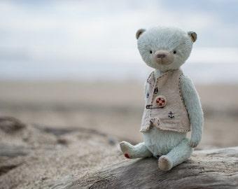 Teddy Bear Gail 7 inches, artist teddy, teddy bear, handmade toy, OOAK