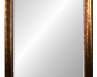 Dark Copper Framed Wall Mirror 29x41