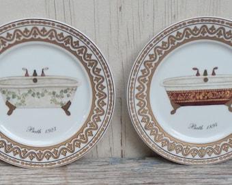 Godinger French Boudoir Decorative Plates!