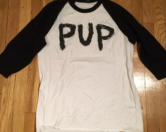 Pup baseball shirt (3/4 sleeves) - M