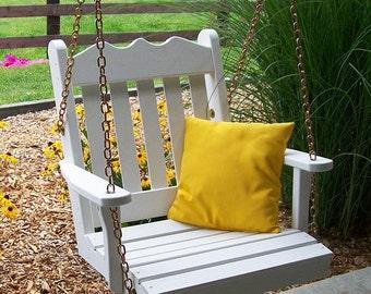 Yellow Pine Royal English Swing Chair