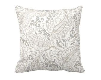 Taupe Pillow Covers Taupe Throw Pillows Decorative Throw Pillows Decorative Pillows Paisley Pillows