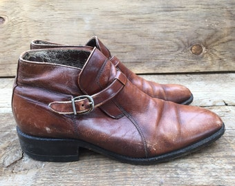 Vintage 60s Ankle Boot- Mens 7.5