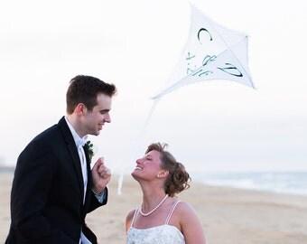 Wedding Kite, Engagement Kite, Photography Kite Prop
