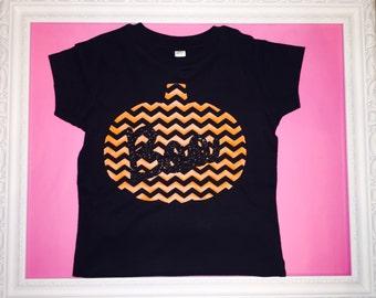Chevron Pumpkin Shirt