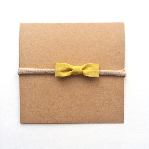 Itty-bitty Yellow Bow