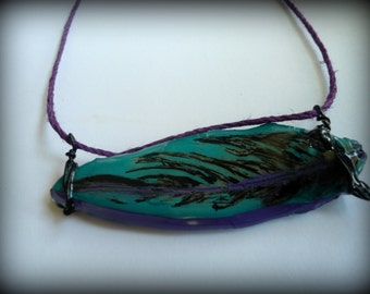 Freedom Feather Reversible Necklace
