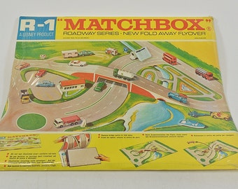Matchbox R1 Fold Away Flyover Lesney England Roadway Series Sealed