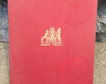 1948 First Edition Harness Horse Racing Book BY FRANK A. WRENSCH