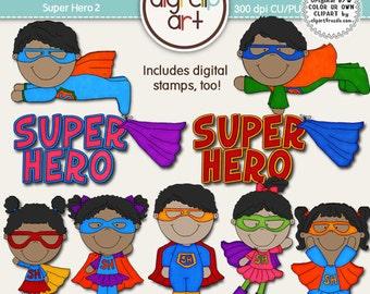 Super Hero 2 Clip Art