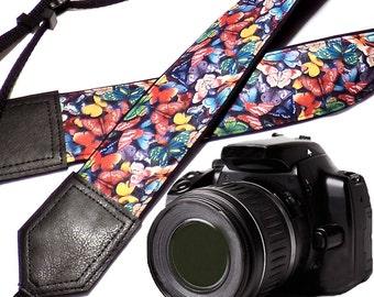 InTePro Butterfly camera strap. DSLR Camera Strap. Camera accessories.